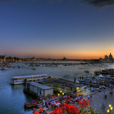 Sunset in Bacino San Marco