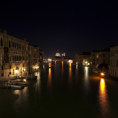 Canal Grande by night